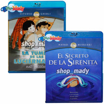 Paq. Secreto De La Sirenita & Tumba De Las Luciérnagas Br-d