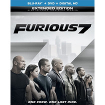 Furious 7 - Rapidos Y Furiosos 7 - Bluray + Dvd Importado