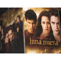 Crepúsculo La Saga/ Luna Nueva Caja Dvd+tarj+gorra+puls+cert
