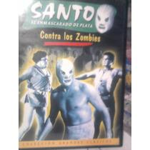 Dvd Santo Vs Los Zombies Lucha Libre El Santo Terror
