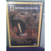 Dvd National Geographic Dinosaurios Tigre Dientes De Sable