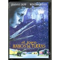 El Jóven Manos De Tijera - Edward Scissorhands - Dvd - 1990