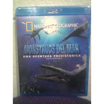 Blu Ray National Geographic Dinosaurios Monstruos De Mar
