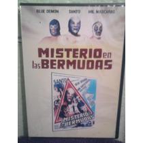 Dvd El Misterio De Las Bermudas Lucha Libre El Santo