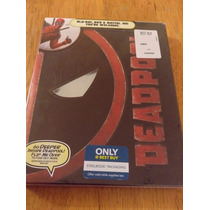 Marvel Deadpool Blu Ray Steelbook Best Buy Exclusivo Nuevo