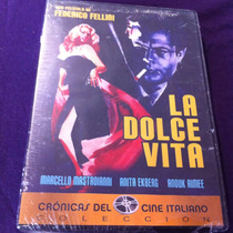 La Dolce Vita Marcello Mastroianni Federico Fellini