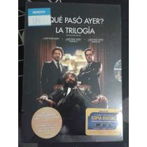 Trilogía Qué Paso Ayer Dvd Nuevo