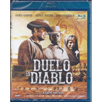 Duelo En Diablo -duel At Diablo- Sidney Poitier Blu-ray Imp.