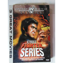 Set 3 Peliculas Street Fighter Series Trilogia Kung Fu