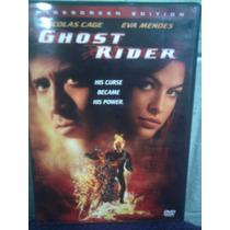Dvd Terror Ciencia Ficción Ghost Rider Marvel Comics