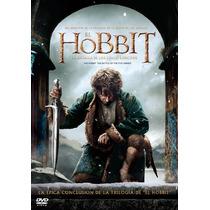El Hobbit La Batalla De Los Cinco Ejercitos Pelicula En Dvd