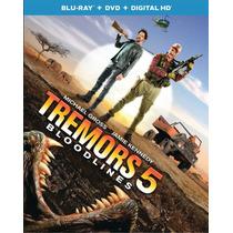 Tremors 5 - Terror Bajo La Tierra - Bluray + Dvd Importado