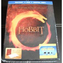 Hobbit Trilogia Blu-ray + Dvd + Dc + Libro (ed. Especial)