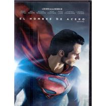 El Hombre De Acero Man Of Steel Cine Aventura Pelicula Dvd