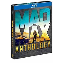 Mad Max Antologia ( Anthology ) 4 Peliculas Coleccion Bluray