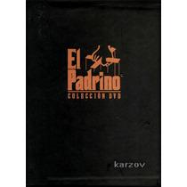 El Padrino, Coleccion Dvd, The Godfather 1, 2 Y 3
