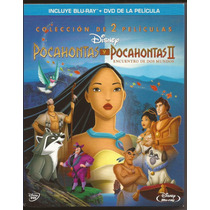 Pocahontas I & Ii De Disney Blu Ray Nuevo Y Original