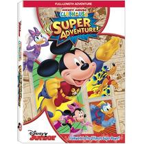 Mickey Mouse Súper Aventura/ Disney Junior Dvd/ Nuevo