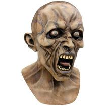 Guerra Mundial Z Scream Zombie 2 Mascara Deluxe Con Peluca
