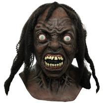 Guerra Mundial Z Halloween Disfras De Zombie Mascara Deluxe
