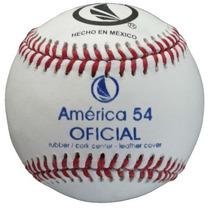 Pelota América 54t Docena 5oz Oficial Beisbol