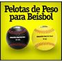 Pelotas De Béisbol Con Peso Para Practica De Lanzamiento
