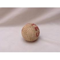 Antigua Bola De Beisbol De Piel Para Coleccion