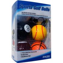 Pelotas De Golf - Bola Deportes 6 Paquete Béisbol Tenis Bas