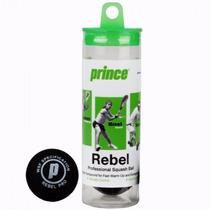 Pelotas De Squash Prince Rebel X3