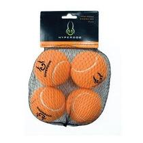 Hyper Pet Mini Pelotas De Tenis Para Perros 4-pack De Orange