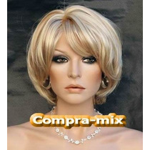 Peluca Super Natural Corta Color Rubia, Flr