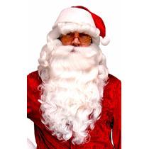 Peluca Barba Y Bigote Santa Claus Santa Clos Disfraz Navidad