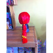 Preciosa Peluca De Jessie De Toy Story.