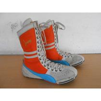 Zapatos Tenis Botas Box Boxeador Boxear Puma Talla 8 Usa #72