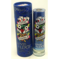 Perfume Original Love & Luck Caballero100 Ml By Ed Hardy !!!