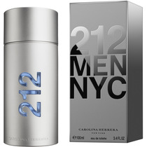 Perfume 212 Men Carolina Herrera 100 Ml Nuevo Y Sellado