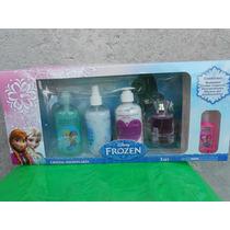 Frozen Disney Juego De Fragancia Crema Jabon Para Niñas
