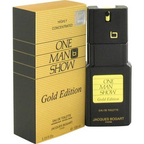 Hm4 Perfume One Man Show Gold Edition Jaques Bogart 100ml
