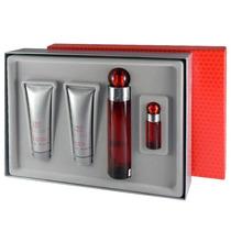 Set 4pzs Perfume 360 Red Caballero 100% Original