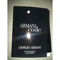 Armani Code By Giorgio Armani Caballero Muestra 1.5 Ml Rdw