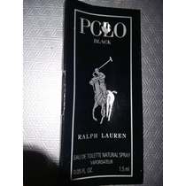 Polo Black By Ralph Lauren Muestra 1.5 Rdw