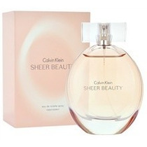 Beauty Sheer Dama Calvin Klein 100 Ml Edt Spray Original Msi
