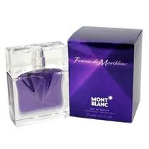 Perfume Femme De Montblanc Por El Mont Blanc 2,5 Oz 75ml Ed