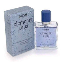 Elementos Aqua Perfume De Hugo Boss Edt Spray 3.3 Oz