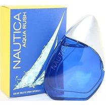 Mdn Perfume Nautica Aqua Rush Caballero 100% Original (100ml