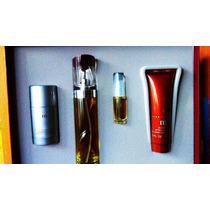 Perfume Estuche 4 Pzas M De Perry Ellis For Men