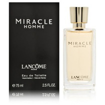 Vmj Perfume Miracle Homme Lancome 75ml
