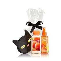 Bath & Body Works Set Monedero Gatito+ Sweet Cinnamon Travel