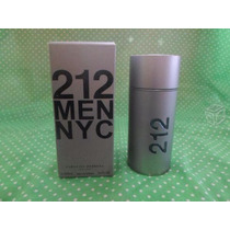 Perfume Carolina Herrera 212 Men Nyc Nuevo Sellado