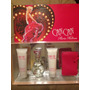 Set Perfume Paris Hilton Can Can 100% Original 4pz